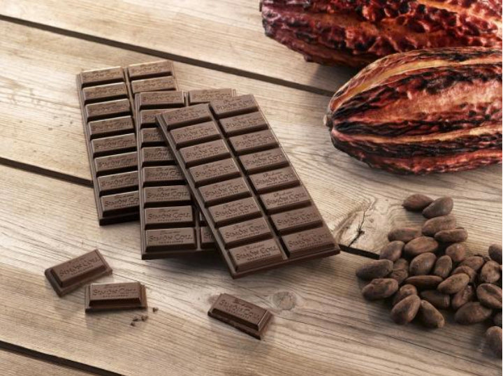 Le Chat BlaChocolate Tablets_Cocoa Pods & Cocoa Beans_Arrangement