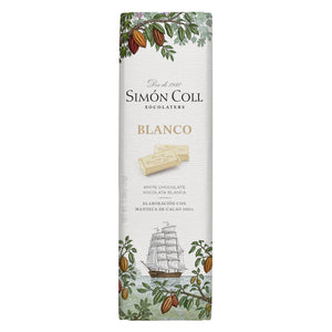 Simon Coll White Chocolate 25g Bar_19th Century Sailboat wrapping