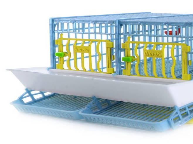 Egg Roller for Quail Cage 2 Section - Hatching Time