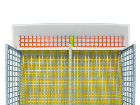 Smart Feeder for Quail Cage 2 Section - Hatching Time