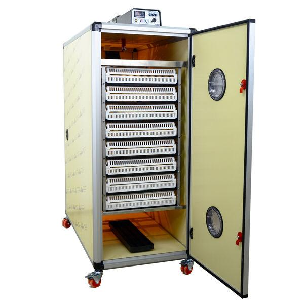 Incubator with Flexy80CS for Hatching Chicks - Hatching Time