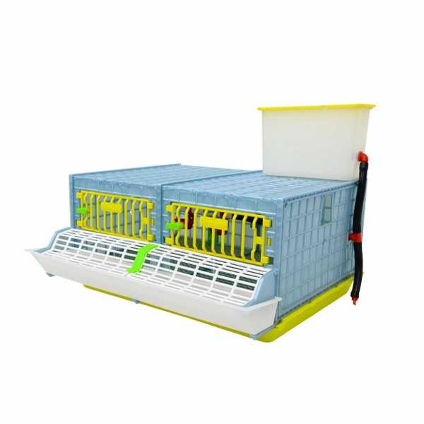 2 Section Grow Out Pen for Chicks_Hatching Time Cimuka