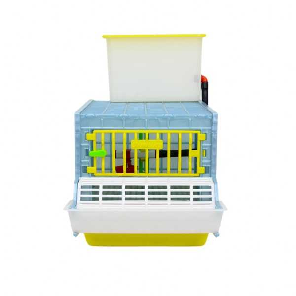 Front View - Grow Out Pen for Chicks_Hatching Time Cimuka