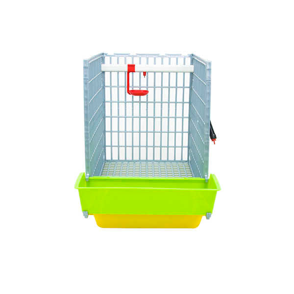 "1 Section Grow Out Pen 15"" for Chicks Open Door Hatching Time Cimuka"