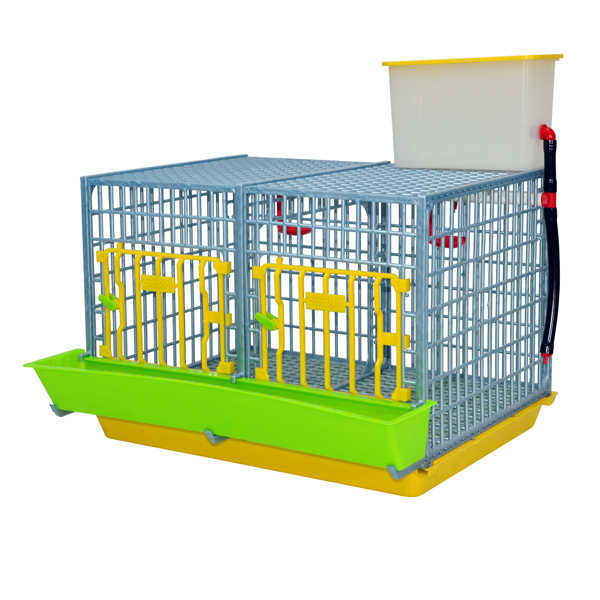 "2 Section Grow Out Pen 15"" for Chicks Hatching Time Cimuka"