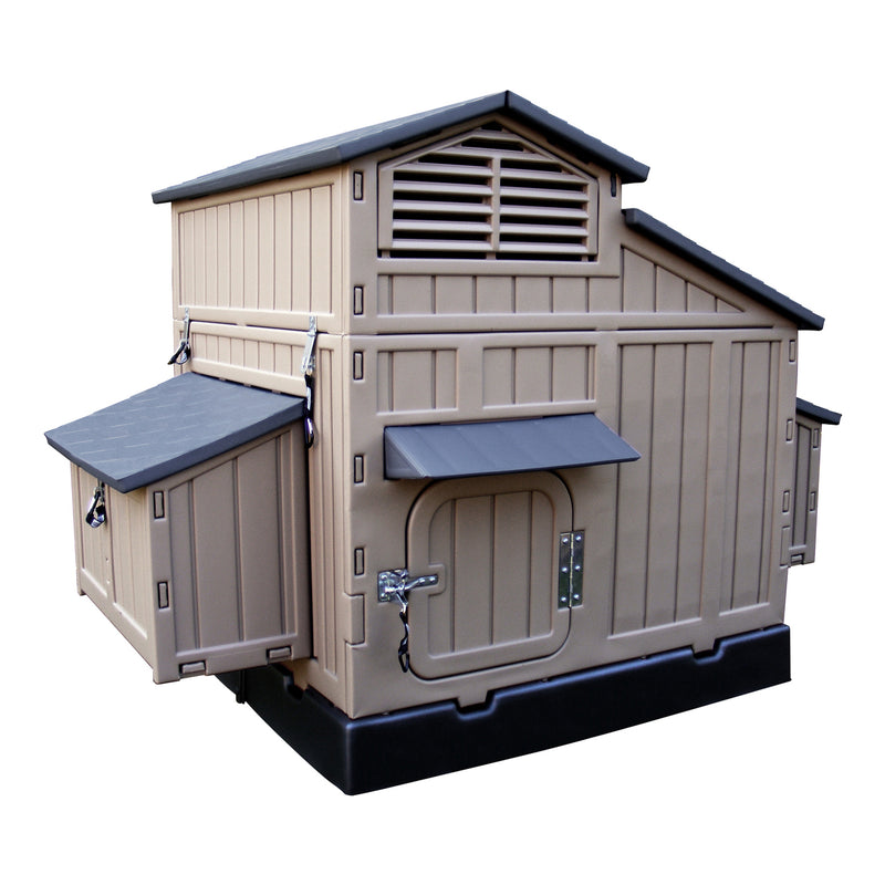 Large Chicken Coop (8 Bird) - Snaplock by Formex