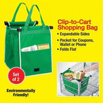 Large Reusable Grocery Bag- Set of 2