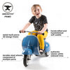 PRIMO Ride On Kids Toy Classic (Blue) - Ambosstoys