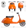 PRIMO Ride On Kids Toy Classic (Orange) - Ambosstoys