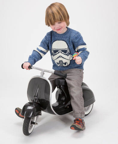 PRIMO Ride On Kids Toy Special (Black) - Ambosstoys