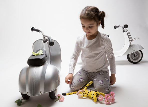 PRIMO Ride On Kids Toy Special (Silver) - Ambosstoys
