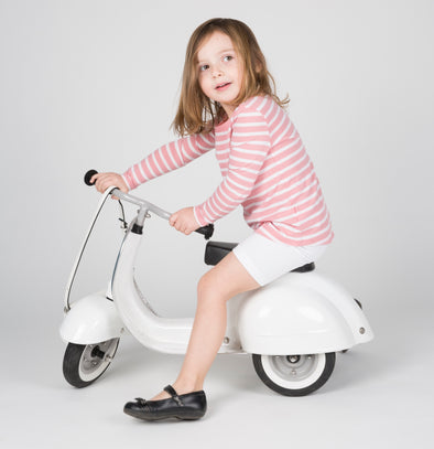 PRIMO Ride On Kids Toy Special (White) - Ambosstoys