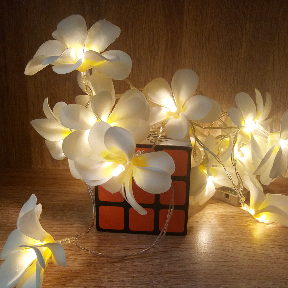 Floral LED String Lights