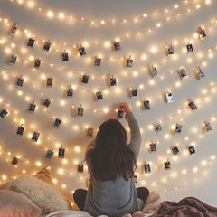 Photo Clip LED String Lights