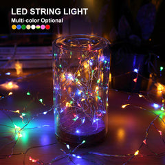 LED String Silver Wire Lights