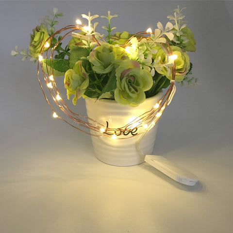 Operated LED String Light