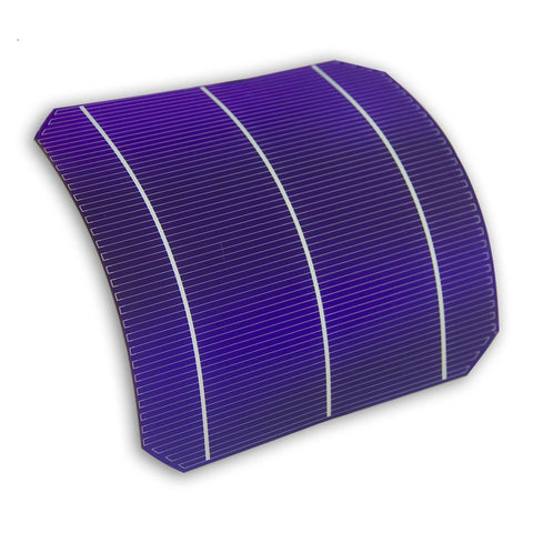 Semi Flexible Mono Solar Cell