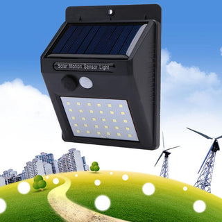 Outdoor Wall Sense Solar Lamp