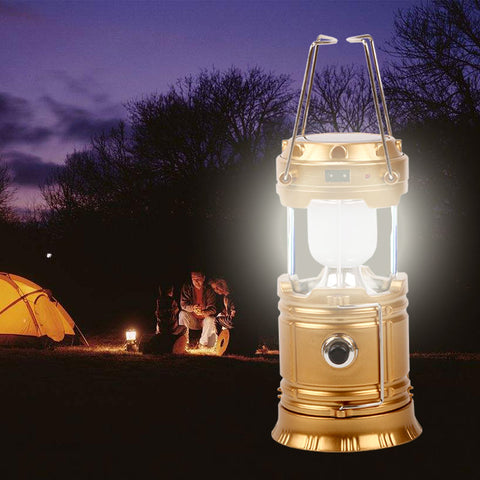 Portable Solar Power Lantern