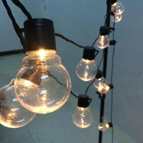 LED Globe Bulb String Light