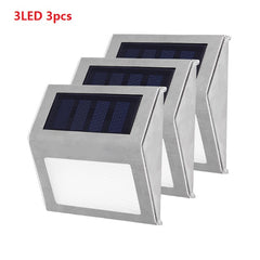LED Steel Solar Power Light