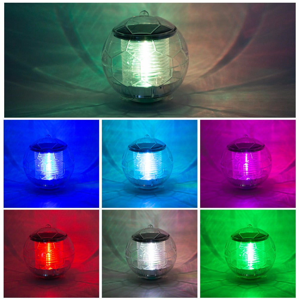 Water Floating Ball LED Lamp
