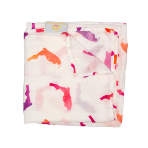 Florida Swaddle - Pink