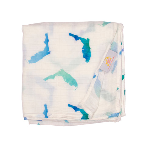 Florida Swaddle - Blue