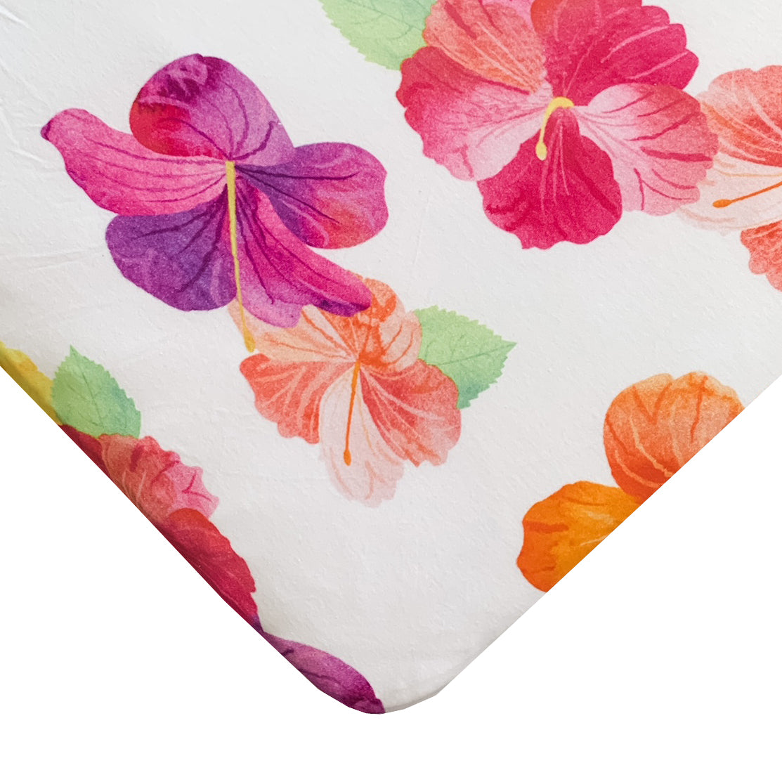 Hibiscus Crib Sheets