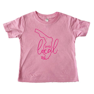 Little Local Toddler Tee Pink