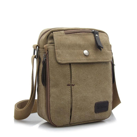 Canvas Casual Travel Crossbody Bag Luxury Men