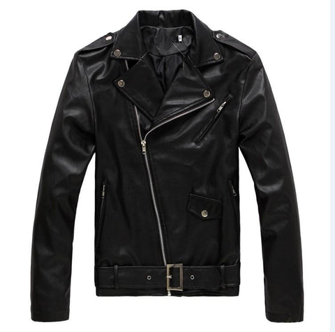 Mens Fashion Rock Jacket PU Leather Jacket
