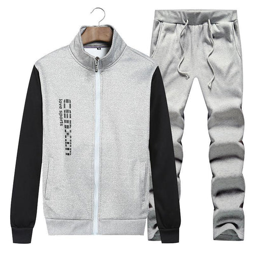 Sports Trend Fashion Casual Men's Suit