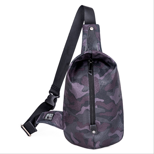 Waterproof Oxford Cloth Portable Zipper Chest Bag