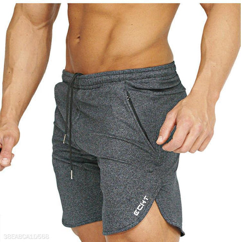 Casual Building Plain Shorts