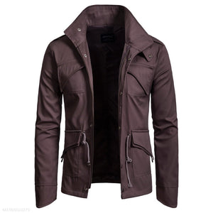 Stand Collar Cotton Jacket 3 Colors