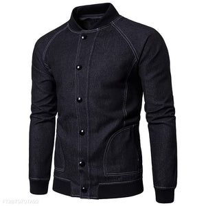 Mens Fashion Denim Jacket