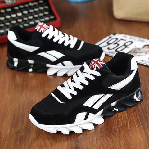 Trainers Sneaker Casual Shoes Men Breathable Lace-Up Shoes