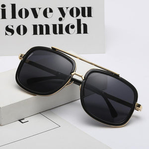 Vintage Fashion Metal Frames Sunglasses
