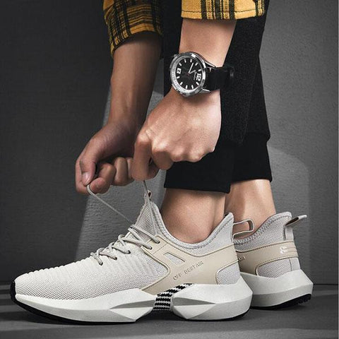 Men's Lightweight Casual Running Shoes Breathable Sneakers