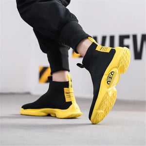Men's Fashion Versatile Comfortable High-Top Sneakers