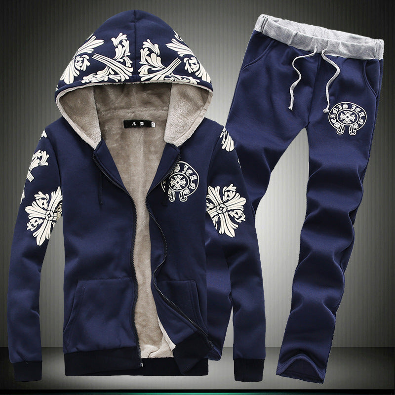 Stylish Floral Printed Sport Suit