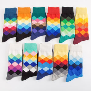 Color Diamond Men's Socks