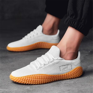 Men's casual breathable Flying weaving sneakers