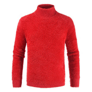 Men's Turtleneck Long Sleeve Sweater