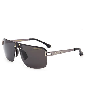 New Polarized Sunglasses Men's Frameless Polarizer Simple Sunglasses HD Polarizer