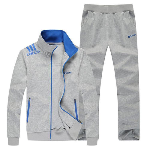 New Hooded Sports Casual Men's Suit Trend Fashion