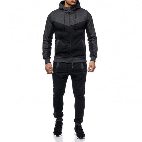 Men's Casual Slim Zipper Hoodie