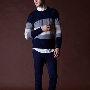Men's Knitted British Thick Sweater