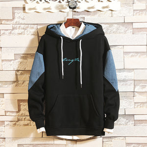 Mens Casual Fashion Hooded Sweater